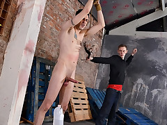 A Stiff Ball Punishing Wank! - Timmy Treasure And Ashton Bradley