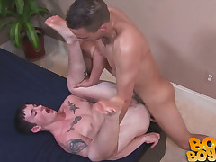 Penniless Straight Boys - Jason together with Mick